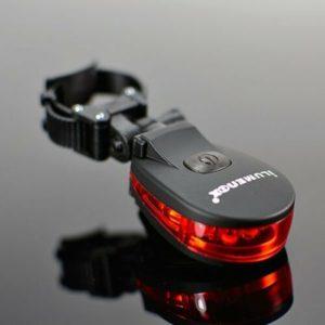 ILUMENOX CROCOLITE 5 LED Tail & Safety Light , Black