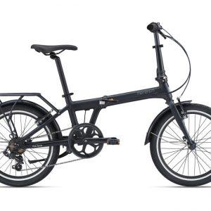 Momentum PakAway 1 Folding Bike Matte Black 2021